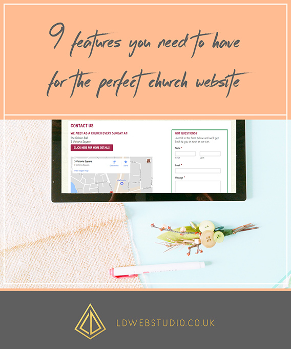 9 features you need to have for the perfect church website